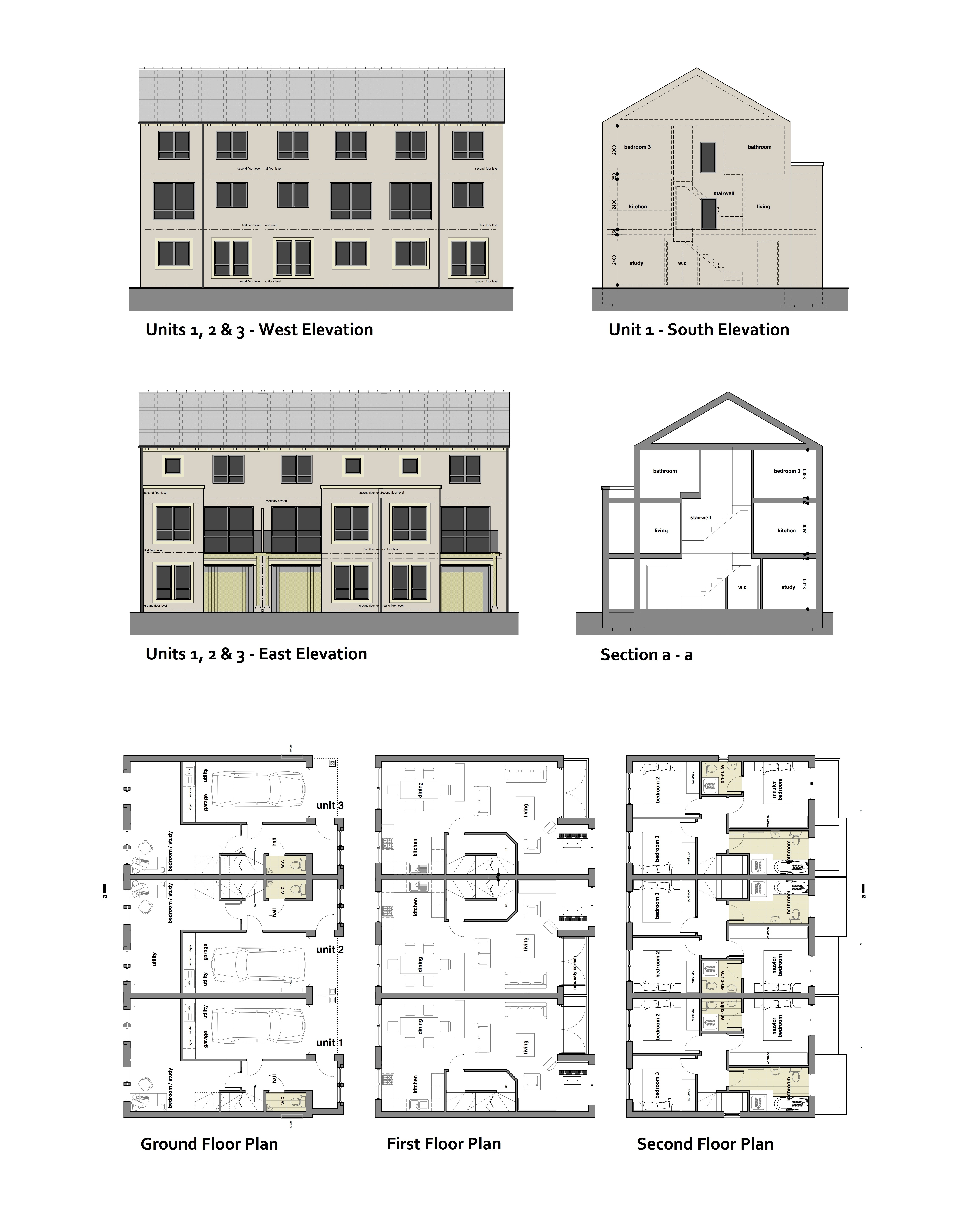 3 And 4 Bedroom New Build Properties In Holmfirth From