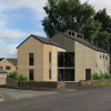 Stunning new home at Gynn Lane, Honley nearing completion
