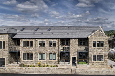 New apartments in Honley