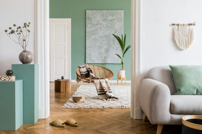 Latest design trend - sage green