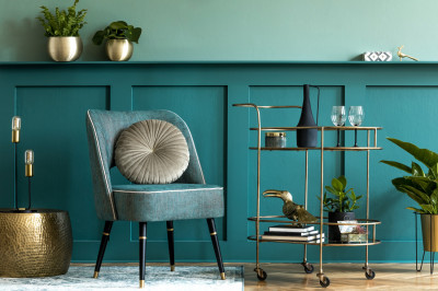 Update your home with wall panelling