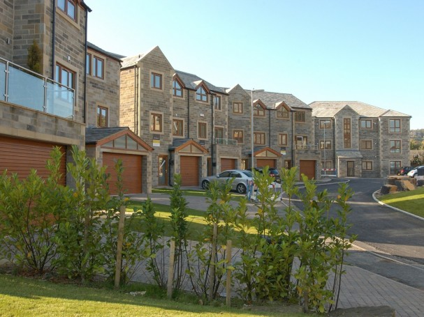 Victoria Court, Holmfirth - semi-detached properties