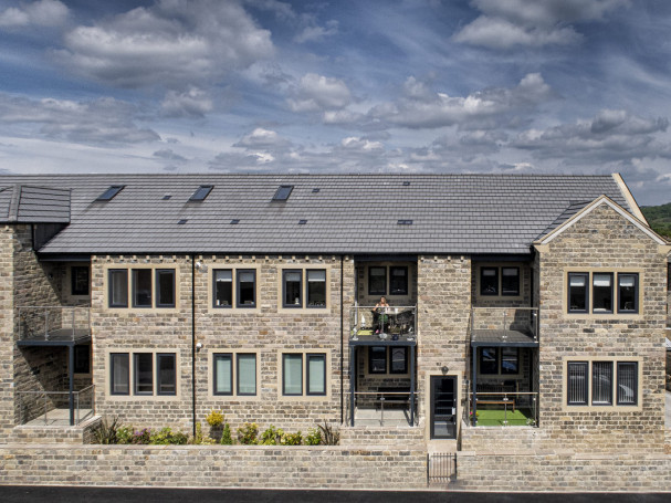New apartments in Honley with outdoor patio and balcony