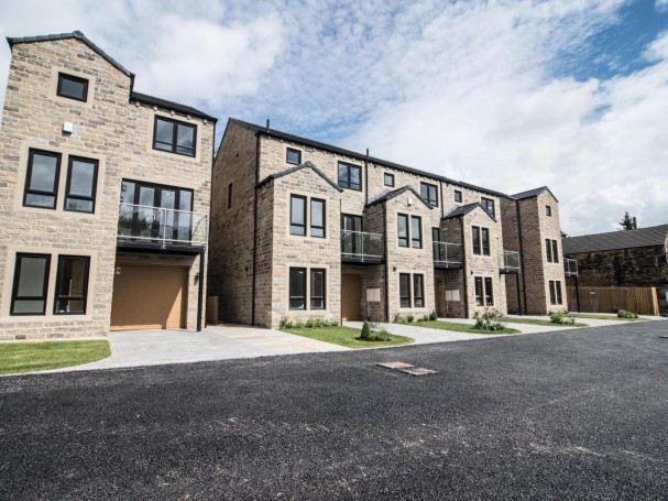 The new homes at Church View, School Lane, Kirkheaton