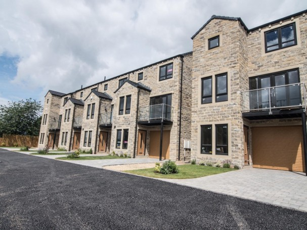 New build homes at Church View development by Eastwood Homes