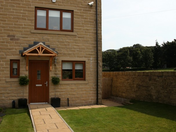 Three storey, 3 bedroom town house in Meltham by Eastwood Homes.
