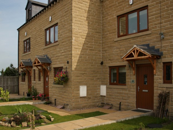 Three storey, 3 bedroom town houses in Meltham by Eastwood Homes.