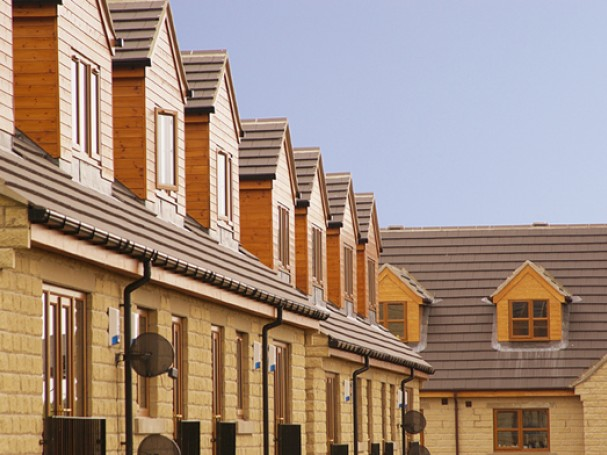Mews homes built by Eastwood Homes in Thurgoland